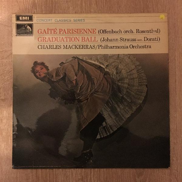 Charles mackerras offenbach: gaite parisienne - philharmonia