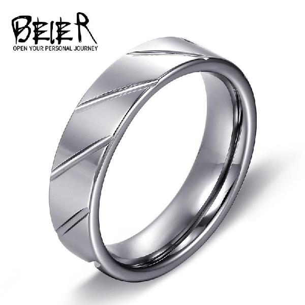Beier 100% real fashion hot sale 6mm silver colour top