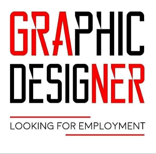 Graphic designer looking for employment