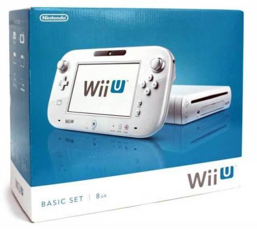 Nintendo wii u console white + game and accessories