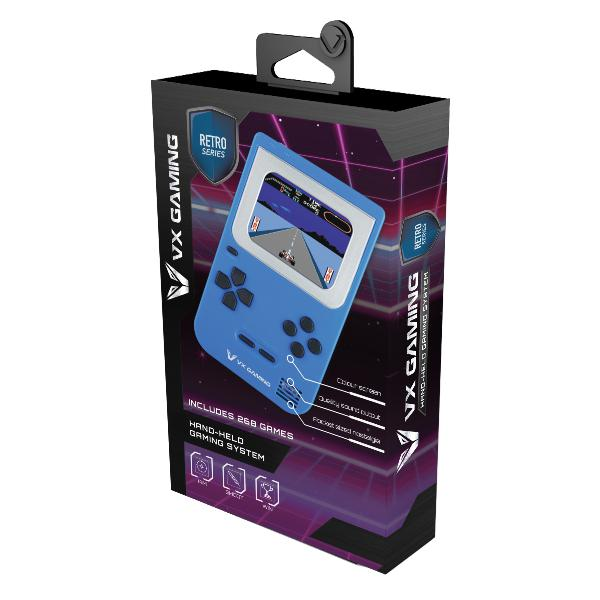 Vx gaming retro series arcade gaming machine 268-in-1 blue