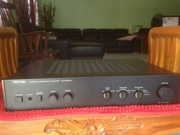 Rotel ra 840 bx4 stereo integrated amplifier