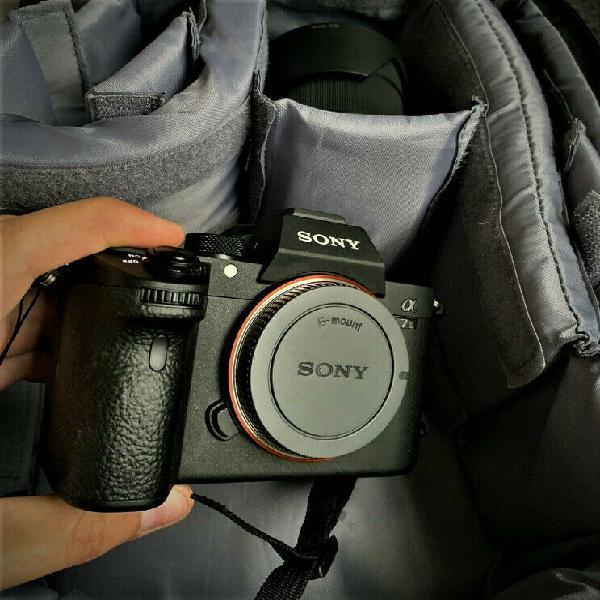 Sony alpha a7 iii 24.2mp digital camera -50mm 1.8 and 28-70