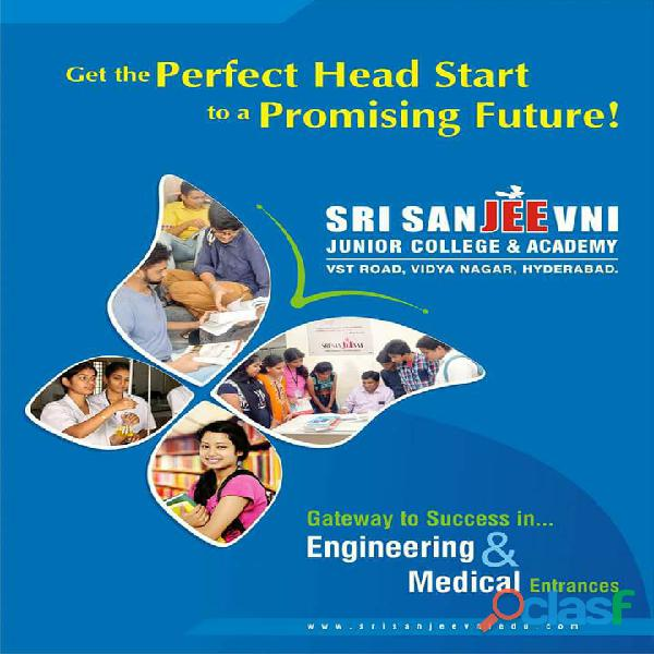 Sri Sanjeevni Junior College | IIT| JEE | NEET | BITSAT | EAMCET Training Institute