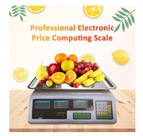 40kg electronic price computing scale meat fruit weight