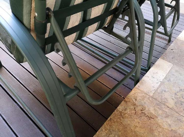 Campmaster patio chairs