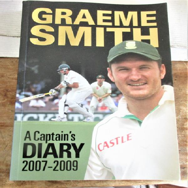 Graeme smith a captains diary 2007-2009 first edition signed
