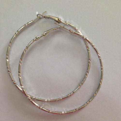E052 new fashion large circle round hoop earrings (k7019)
