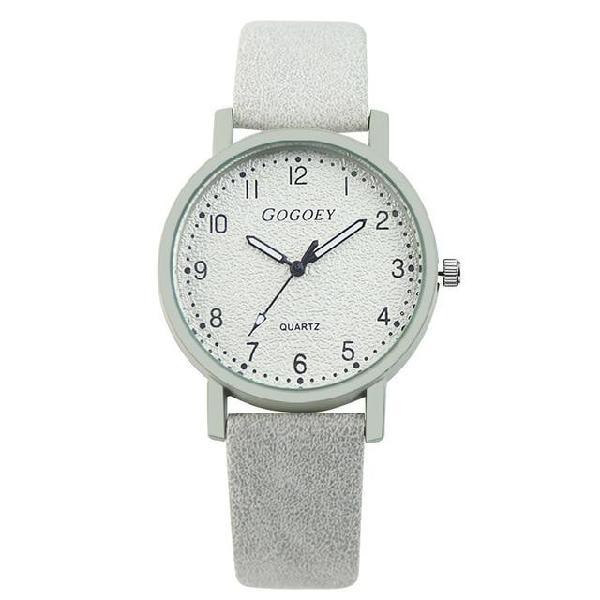 Gogoey brand womens watches fashion leather wrist watch