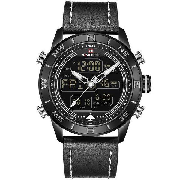 Naviforce luxury brand mens fashion sport watches men quartz