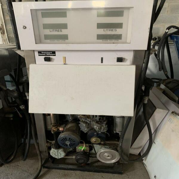 Diesel pump in working condition.,