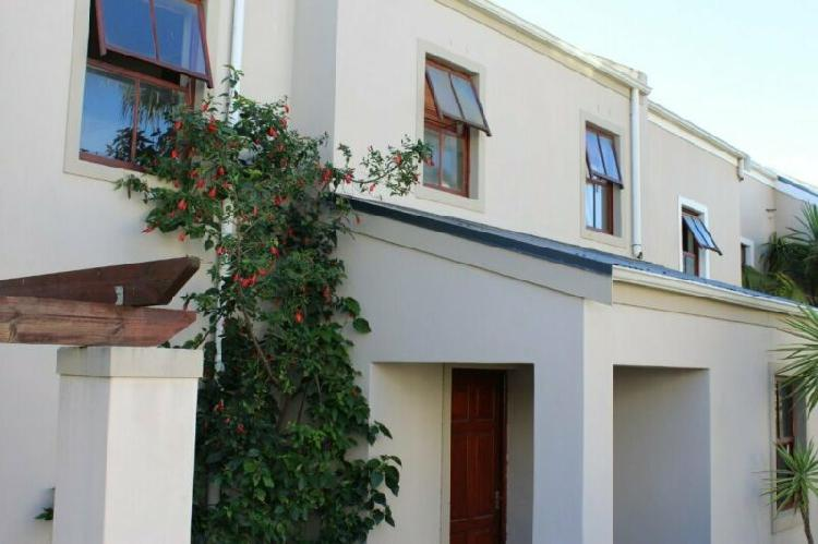 House in stellenbosch now available