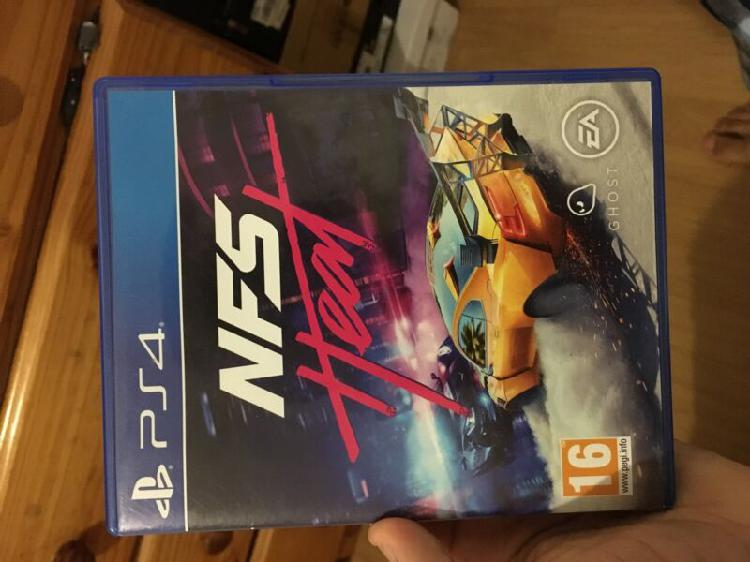 Ps4 game, nfs heat
