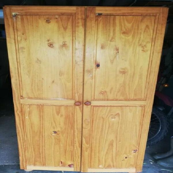 Pine clothes cupboard