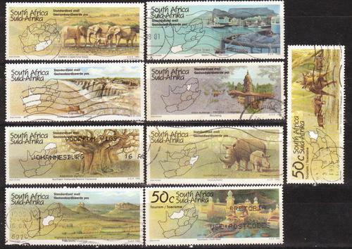 South africa 1995 tourism complete set of the series