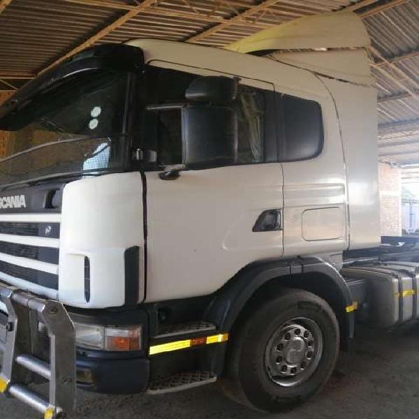 Scania R124G 420 Opticruise