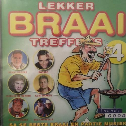 CD - Lekker Braai Treffers - SA Se Beste Braai En Partie