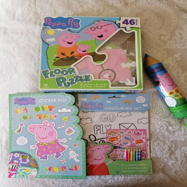 Kids pepper pig set