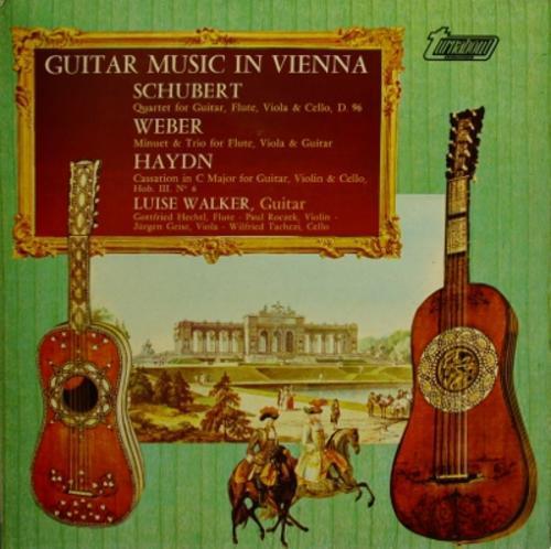 Luise walker: guitar music in vienna: schubert, weber, haydn