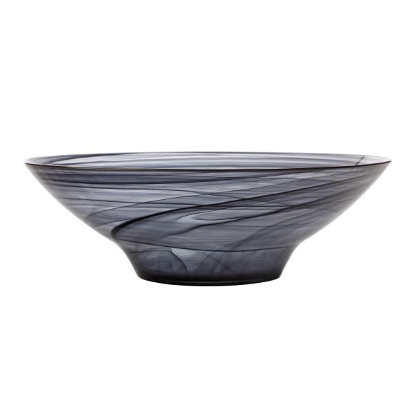 Maxwell & Williams Marblesque Glass Serving Bowl, 32cm