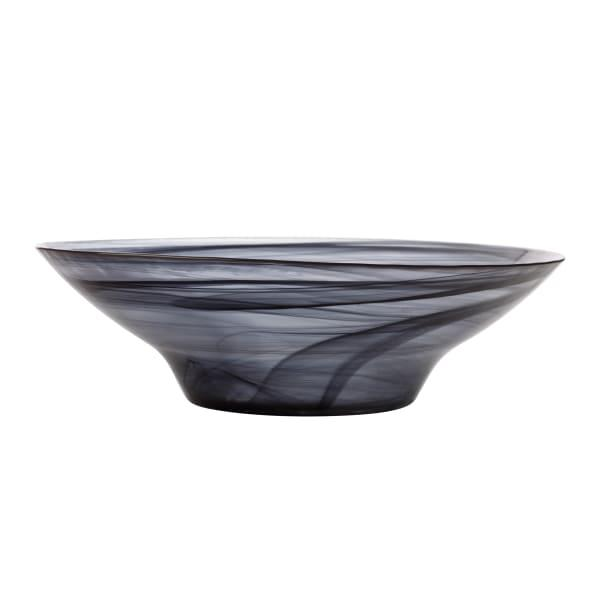 Maxwell & Williams Marblesque Glass Serving Bowl, 37cm