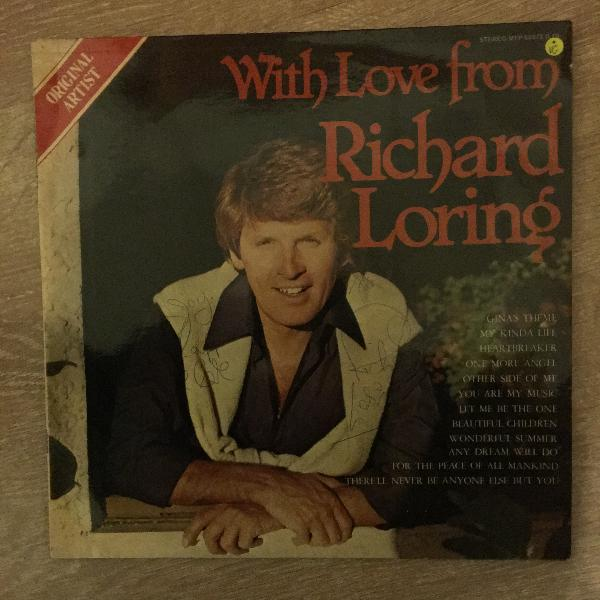 Richard loring - with love from richard loring - vinyl lp