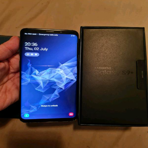 Samsung s9+ 128gb