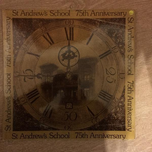 St andrews school - 75th anniversary - vinyl lp record -