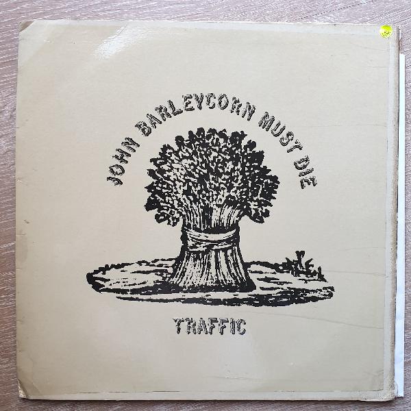 Traffic john barleycorn must die vinyl lp record - opened -