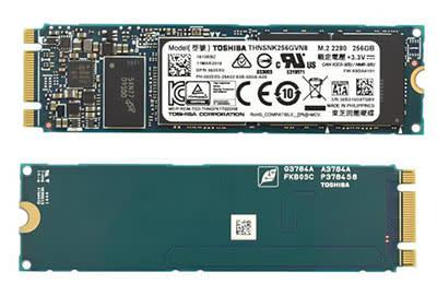 Bargain] toshiba ssd m.2 2280 256gb, 3.3v solid state hard
