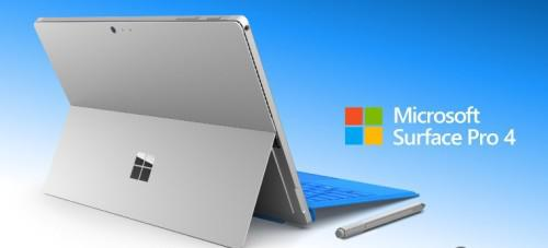 Microsoft surface pro 4. core i7. 256 ssd,8gb ram.high res