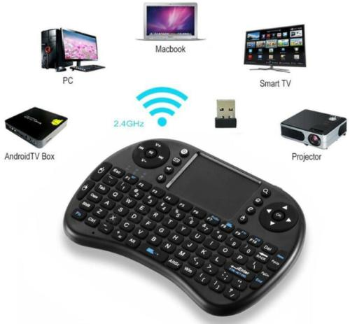 Mini wireless keyboard, air mouse remote. for android tv