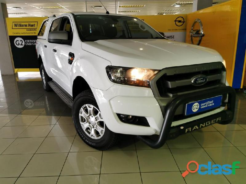 2016 ford ranger 2.2 double cab hi rider xls