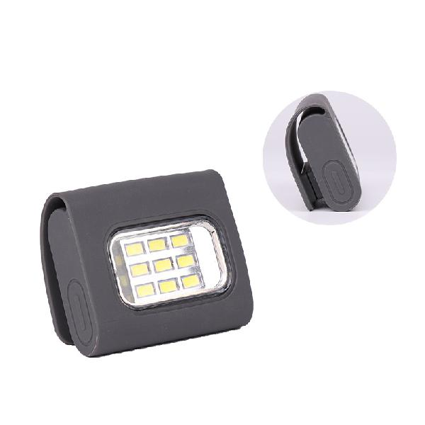 4 modes 9 led magnetic clip work light constantly bright