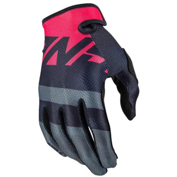 Answer voyd glove adult - black-charcoal-pink l