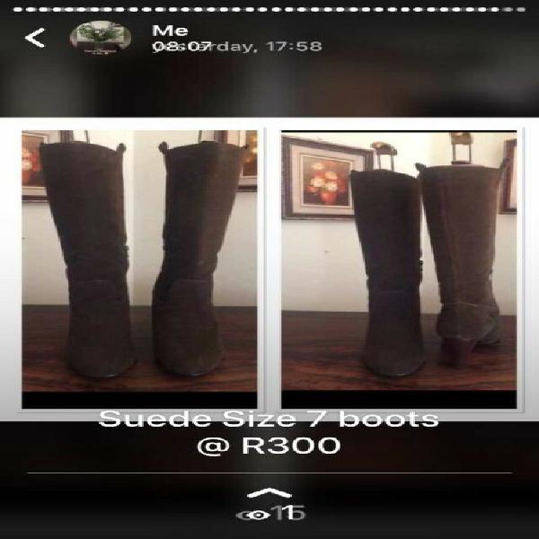 Boots size 7 r1000 for all 3 x prs!!!