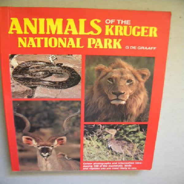 Animals of the kruger national park by g. de graaff