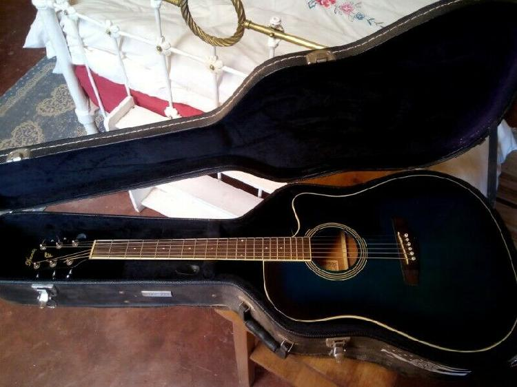 Ibanez pf series pf15ece acoustic electric with hard case