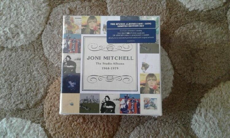 Joni mitchell first 10 studio albums limited edition cd set