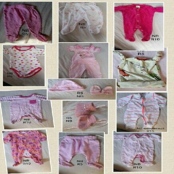 0-12 months baby girl clothes bundle