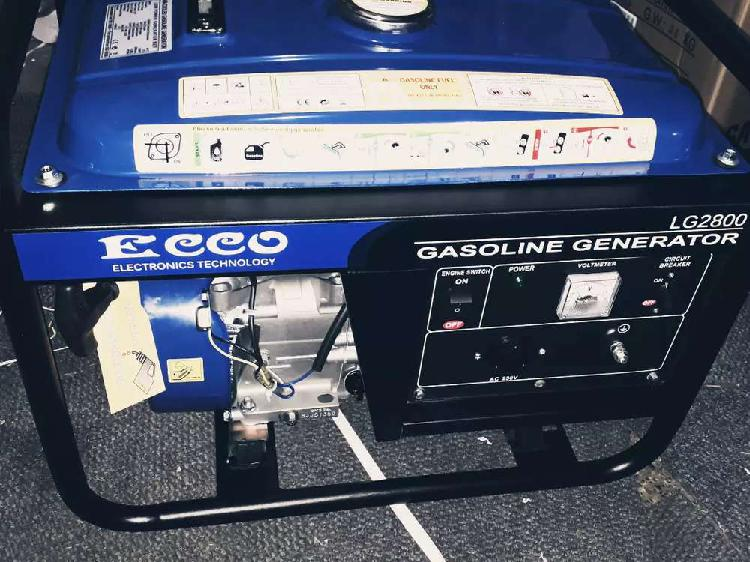 2.2kva,2800dc ecco pull start new with a warranty for only