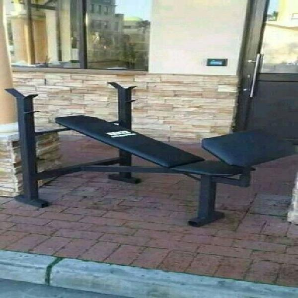 Adjustable bench with removable preacher curl