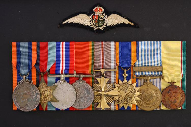 Group of eight south african korean war, war medals -