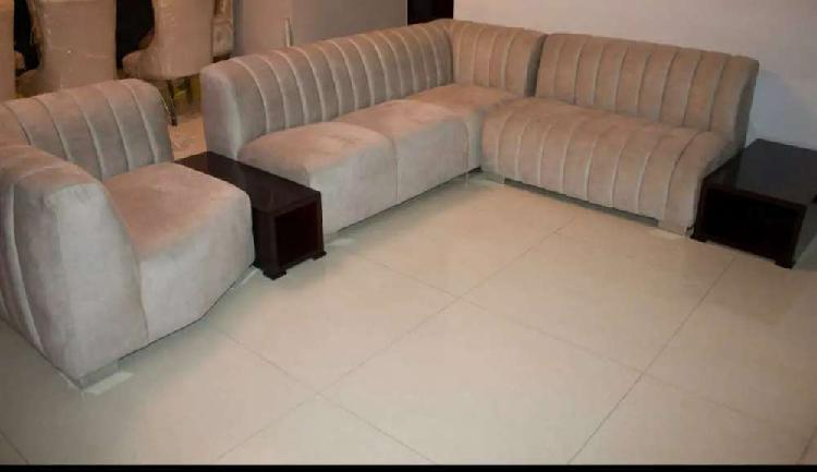 New lounge suite + side tables for sale!!