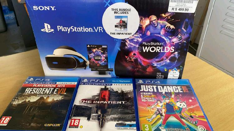 Playstation 4 vr bundle for sale with box