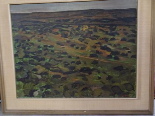 South african artist brian bradshaw 1923 - 2016 oil on board