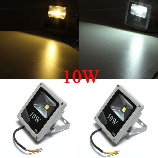 10W White/Warm White IP66 LED Flood Light Wash Outdoor