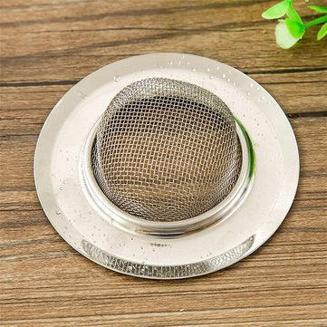 7/9/11cm stainless steel sink filter hair colanders