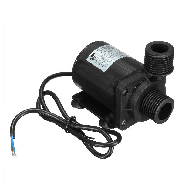 Ip68 dc12v 5m 800l/h ultra quiet brushless motor submersible