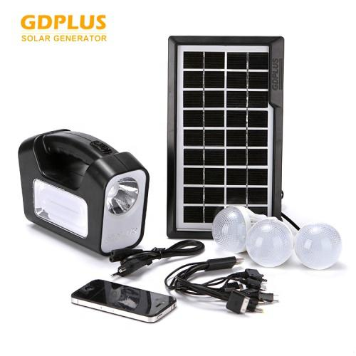 Portable solar lighting system gd plus gd-9 new gdlite